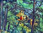 Paul Cézanne: Chateau Noir, 1904 (id: 411) poszter