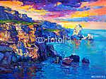 Az óceán és a sziklák (id: 4211) tapéta