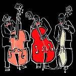 Jazz zenekar (id: 5111) falikép keretezve
