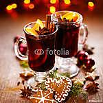 Karácsonyi forralt vörösbor, fűszerekkel és naranccsal (id: 7111)