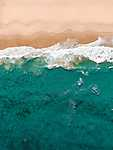 Ausztrál partvidék - drónfelvétel (id: 17212) többrészes vászonkép