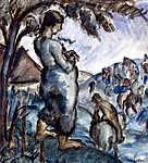 Derkovits Gyula: Család (id: 18612) tapéta