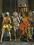Anthony van Dyck : Krisztus megkorbácsolása (színverzió 1.) (id: 19512) vászonkép óra