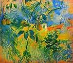 Berthe Morisot: Körték (id: 2012) többrészes vászonkép