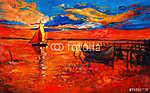 Boats (id: 4312) vászonkép