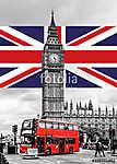 Big Ben London (id: 9512) többrészes vászonkép