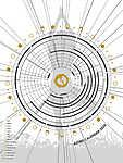 Asztro Naptár 2020. / Yoga-Tree 3:4 (id: 20513) vászonkép óra