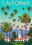 Utazás poszter - Kalifornia (id: 21013) tapéta