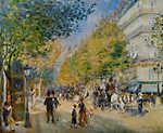 Paul Cézanne: Grand Boulevard (id: 4013) falikép keretezve