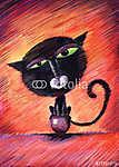 Clotilda cat (id: 5313) poszter