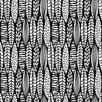 Skandináv stílusú leveles minta ff (id: 19314) poszter