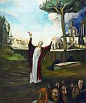 Csontváry Kosztka Tivadar: Fohászkodó üdvözítő (id: 20314) vászonkép