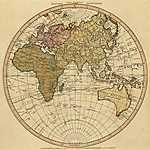 A keleti félteke térképe (id: 2314)