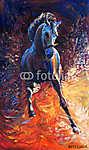 Kék ló (id: 4214)