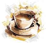 Digitális kávé (id: 10315) vászonkép
