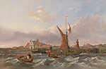 A Tilbury erőd dagálynál (id: 18115) többrészes vászonkép