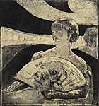 Mary Cassatt: Az operában (id: 1915) poszter