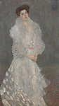 Gustav Klimt: Hermine Gallia portréja (id: 19815) vászonkép óra