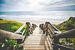 Falépcsők a tengerpartra, Ausztrália (id: 17216)
