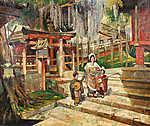 Tornai Gyula: Kert Kyotoban (id: 19616) tapéta