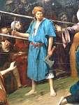 Munkácsy Mihály: Golgota (részlet 3.) (id: 2816) falikép keretezve