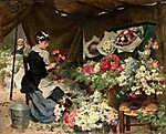 Edgar Degas: Virágpiac (id: 4016)