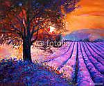 Lavender (id: 4316) többrészes vászonkép