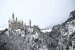 Neuschwansteini kastély télen (id: 14317) tapéta