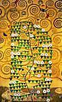 Gustav Klimt: Stoclet fríz (részlet) (id: 19817) falikép keretezve
