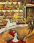 Georges Seurat: A cirkusz (id: 2617) vászonkép
