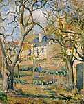 Camille Pissarro: Zöldséges kert (id: 2717)