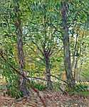 Paul Cézanne: Fák (id: 2917) vászonkép