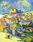 Paul Cézanne: Gardanne (id: 417) falikép keretezve