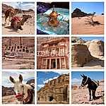 Petra a téren (id: 5017) falikép keretezve