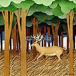 Újrahasznosított papírokból készült szarvasmarha (id: 6217) tapéta