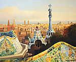 Barcelona Park Guell (id: 14918) bögre