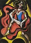 Scheiber Hugó: Táncosnő (id: 21418) vászonkép
