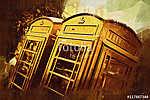 London oil art illustration (id: 15519) poszter