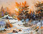 Rural winter landscape (id: 16419)