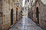 Dubrovnik óváros (id: 17619) vászonkép óra