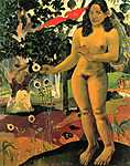 Pierre Auguste Renoir: Te Nave Nave Fenua - Elragadó föld (id: 919) vászonkép