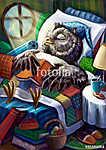 Bagoly doktor alszik (id: 14820) poszter