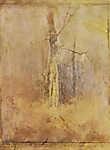 Mednyánszky László: Szomorkás hangulat, száraz fával (id: 20020) többrészes vászonkép