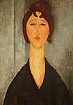 Modigliani: Fiatal nő portéja (id: 13921) poszter