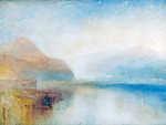 William Turner: Reggeli fények (színverzió 1) (id: 20521) tapéta
