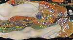 Gustav Klimt: Vízikígyók II. (1906-1907) (id: 10922) poszter