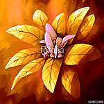 festmény állati virág  (id: 11422) többrészes vászonkép