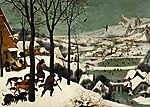 Pierre Auguste Renoir: Vadászok a hóban (id: 13922) vászonkép