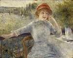Pierre Auguste Renoir: Alphonsine Fournaise portréja (id: 1422) poszter