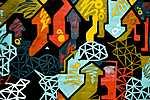 Graffiti Melbourne, Ausztrália (id: 17122) falikép keretezve